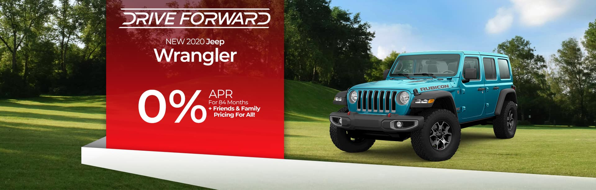 Finance a New Jeep Wrangler at 0% near Kendallville, Indiana