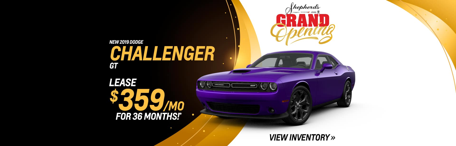 Lease a new Dodge Challenger near Fort Wayne, Indiana
