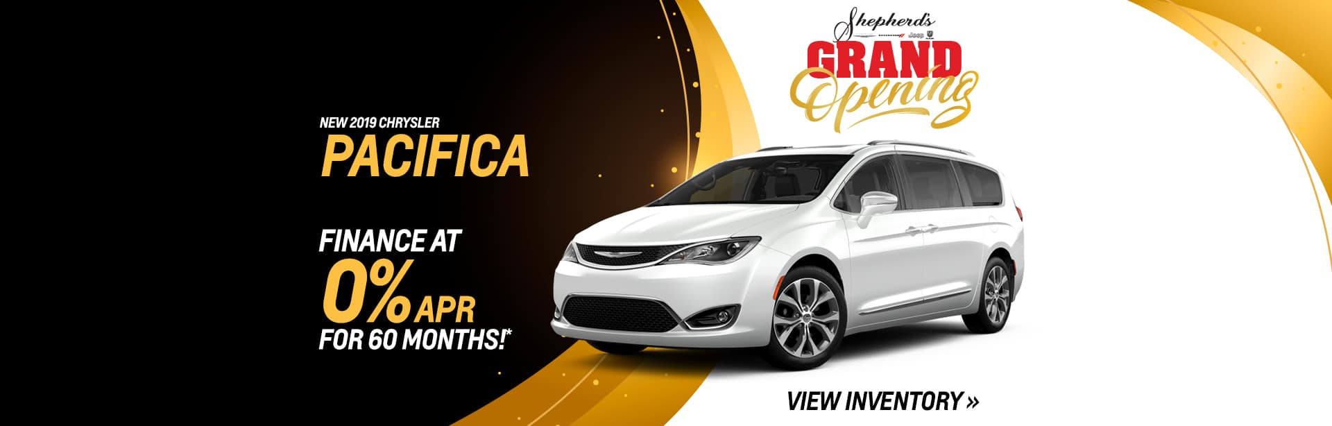 Get 0% on a New Pacifica in Auburn, Indiana