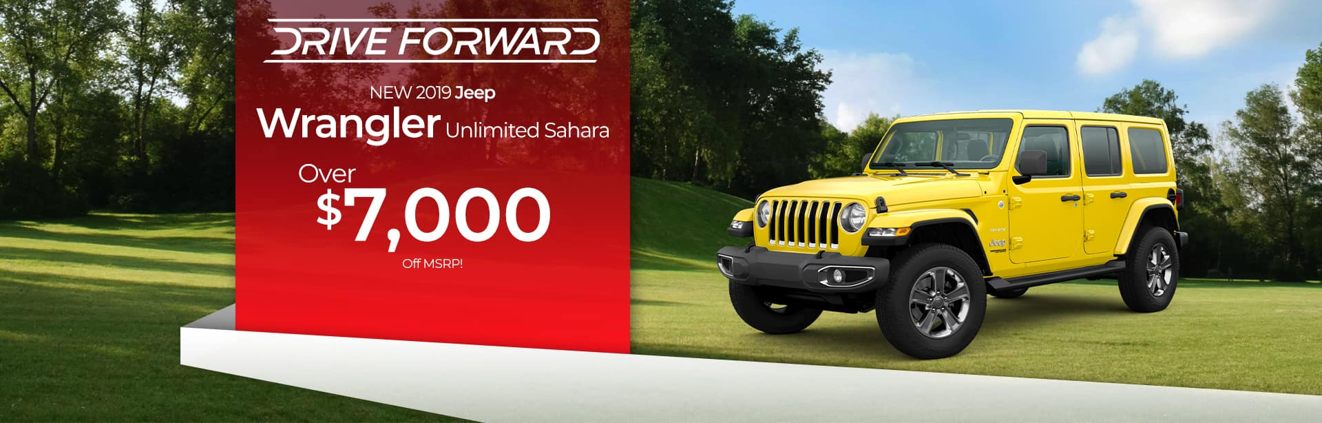 Save up to $7,000 off a New Jeep Wrangler near Fort Wayne, Indiana
