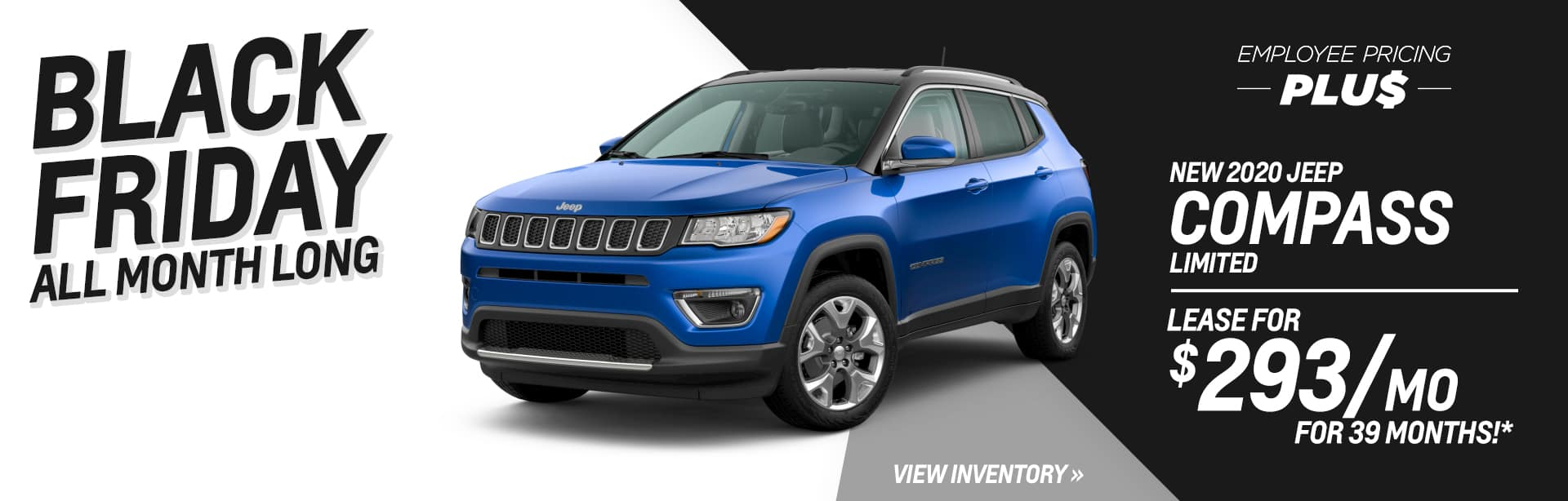 Lease a New Jeep Compass for $293 a month in Auburn, Indiana