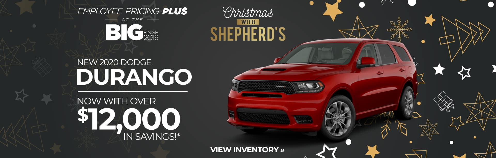 Save up to $12,000 on a New Dodge Durango near Angola, Indiana