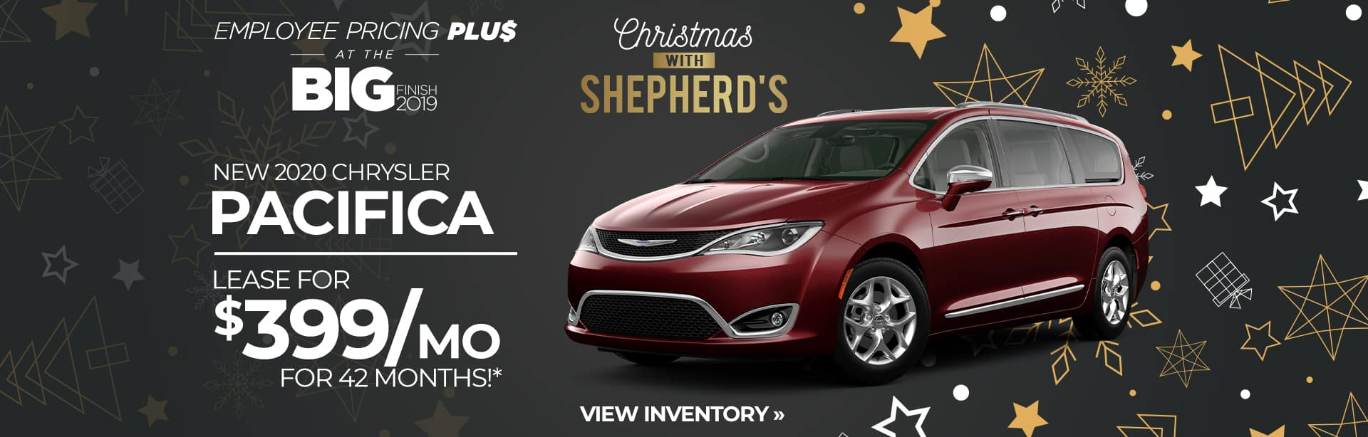 Best Lease Special on a new 2020 Pacifica, near Waterloo, Indiana
