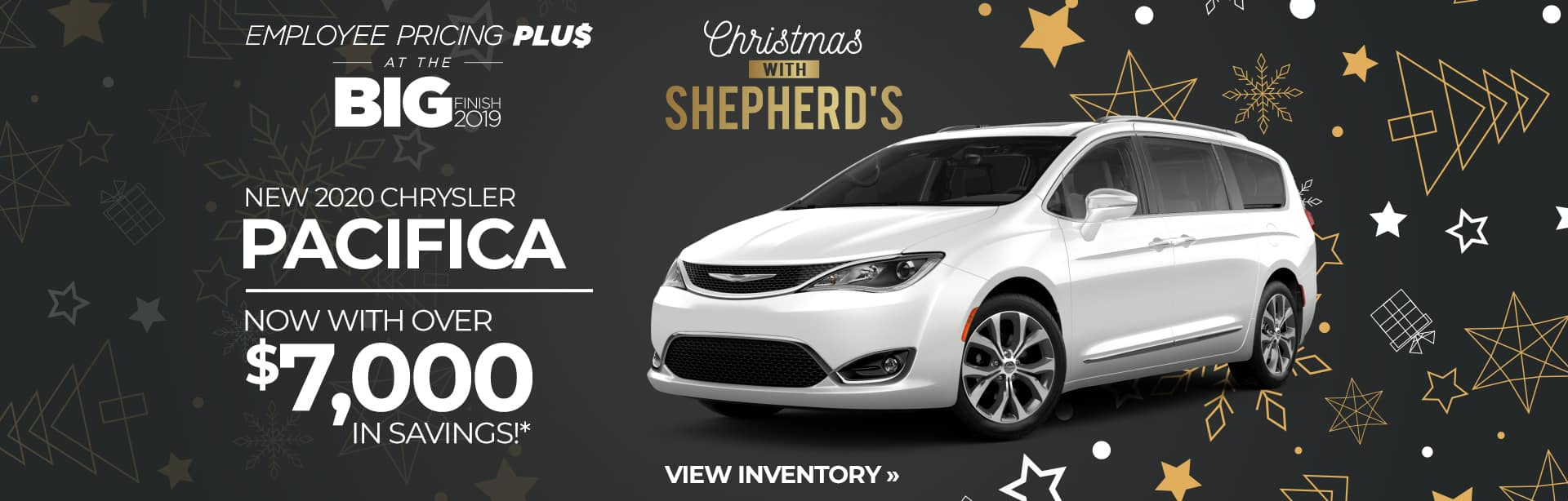 Rebate Special on a New Chrysler Pacifica in Auburn, Indiana