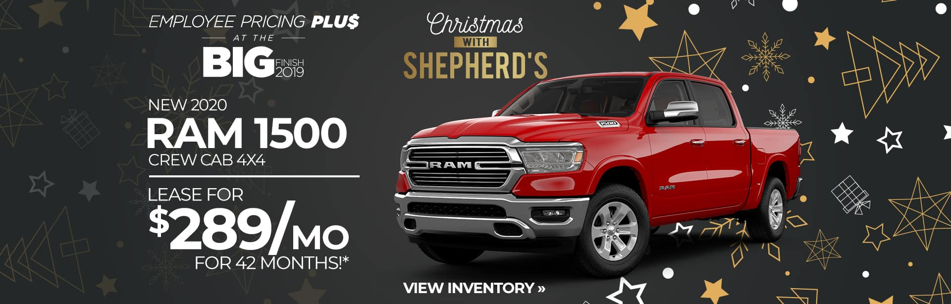 Lease Special on an All-New Ram 1500 Near Fort Wayne, Indiana
