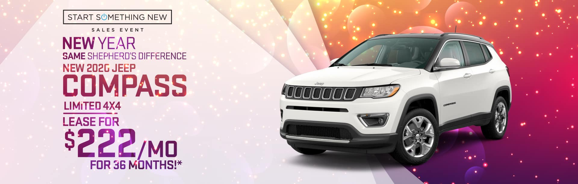 Lease a New Jeep Compass near Fort Wayne, Indiana