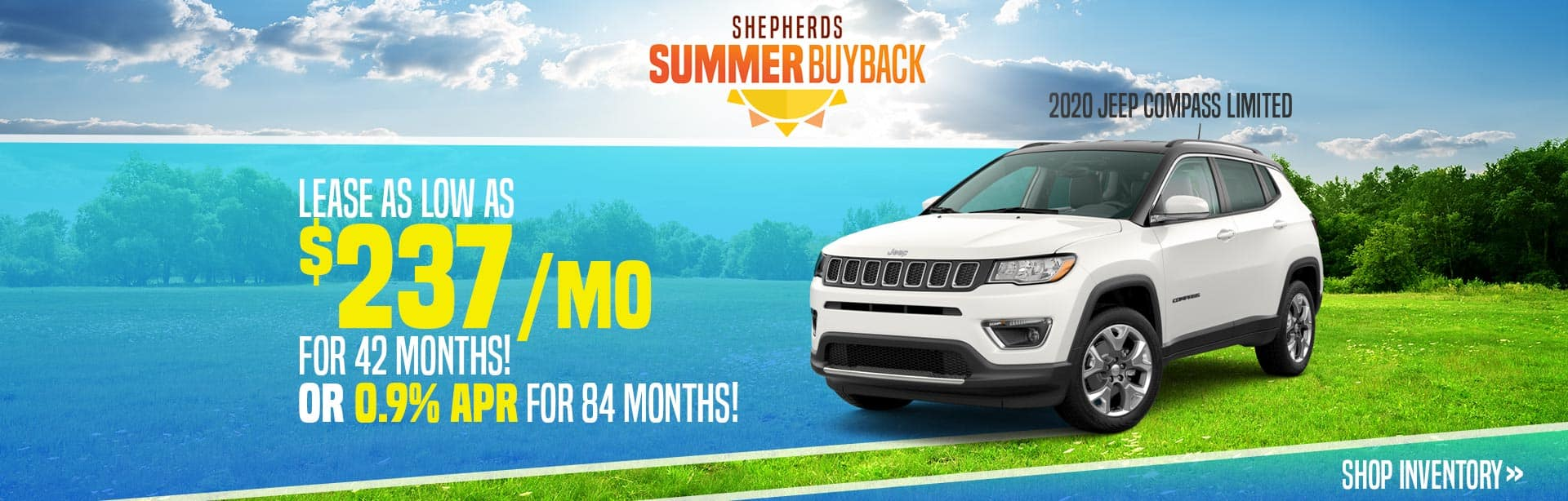 New Jeep Compass Inventory near Kendallville, Indiana.