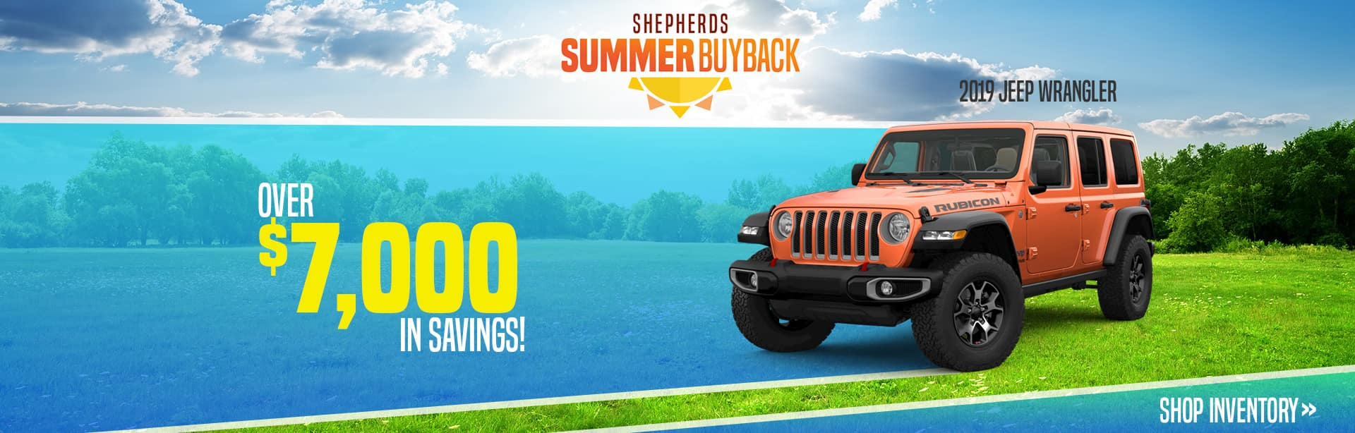 Rebate on New Jeep Wranglers near Kendallville, Indiana