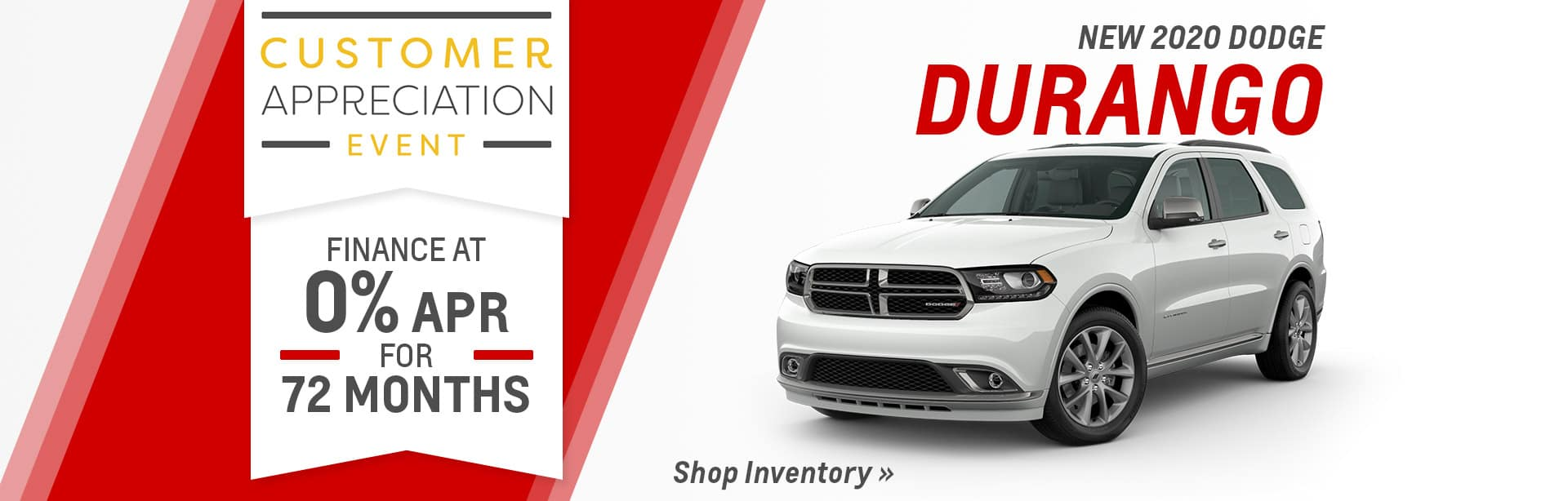 2020 Durango Inventory in Auburn, Indiana.