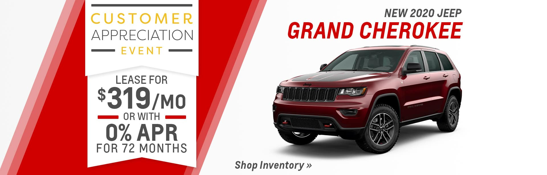 New Jeep Grand Cherokee Dealer near Leo-Cedarville.