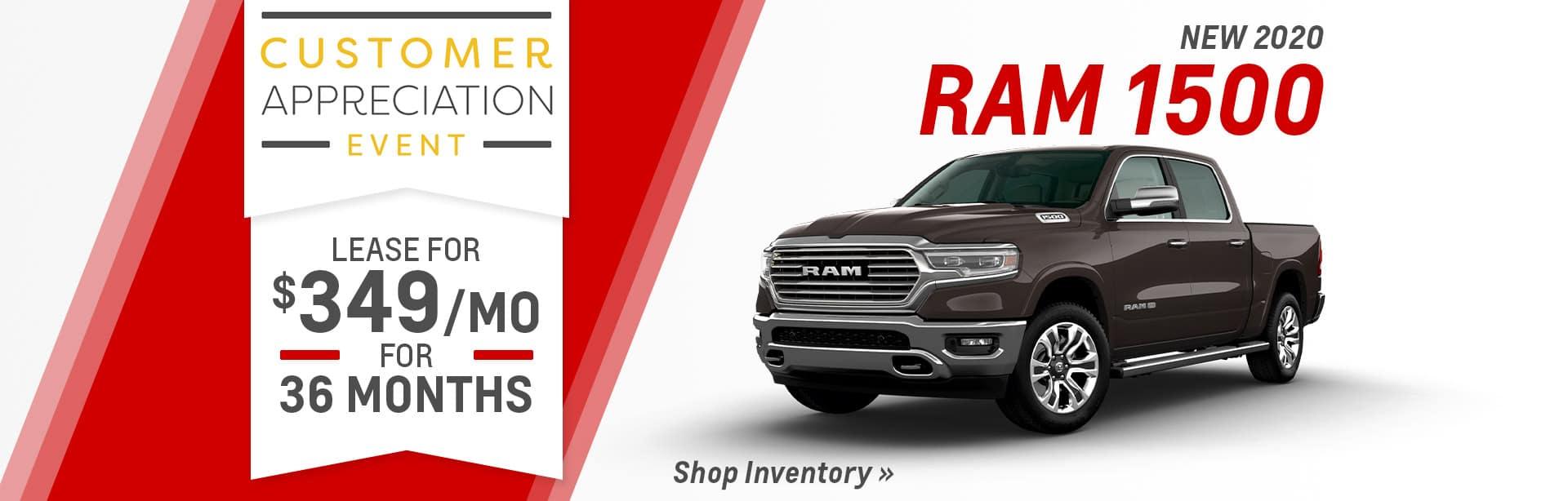 Lease a RAM 1500 near Indianapolis, Indiana