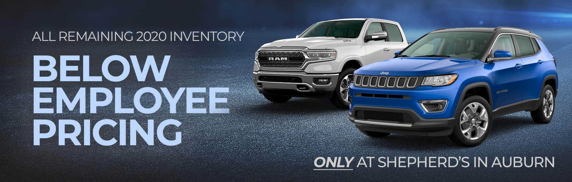 Save on all 2020 in stock vehicles at Shepherds, near Fort Wayne IN