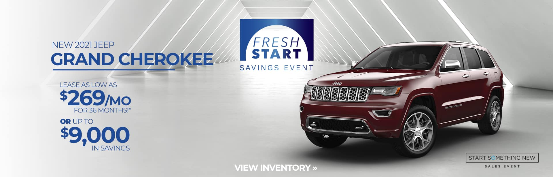 Great deal on a new 2021 Grand Cherokee Lease near Fort Wayne IN
