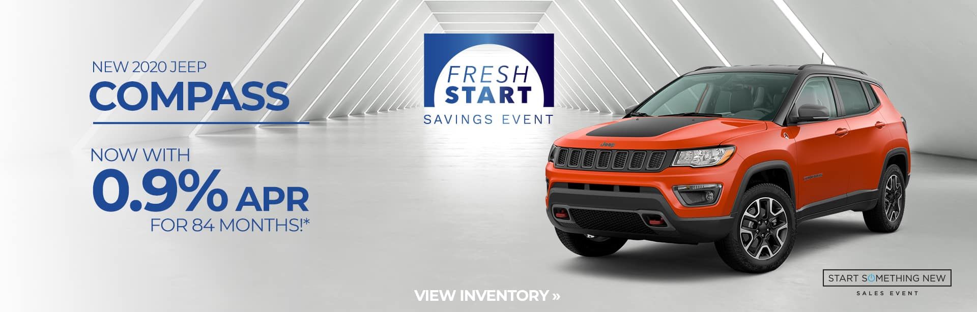 Best finance deal on the all-new Compass near Fort Wayne IN