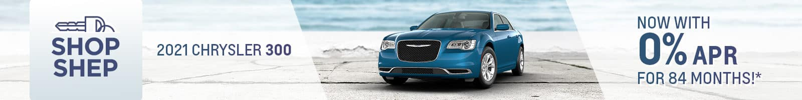 Special Financing on a New Chrysler 300 near Auburn, Indiana