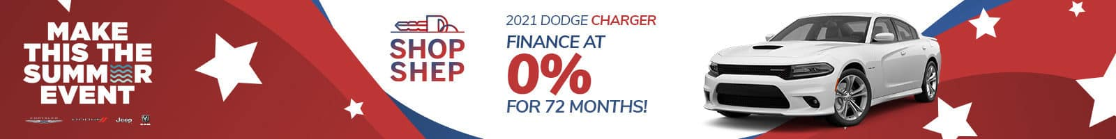 Special Financing on a New Dodge Charger near Auburn, Indiana