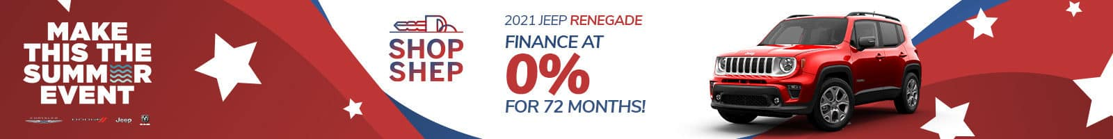 Special Financing on Jeep Renegade near Auburn, Indiana