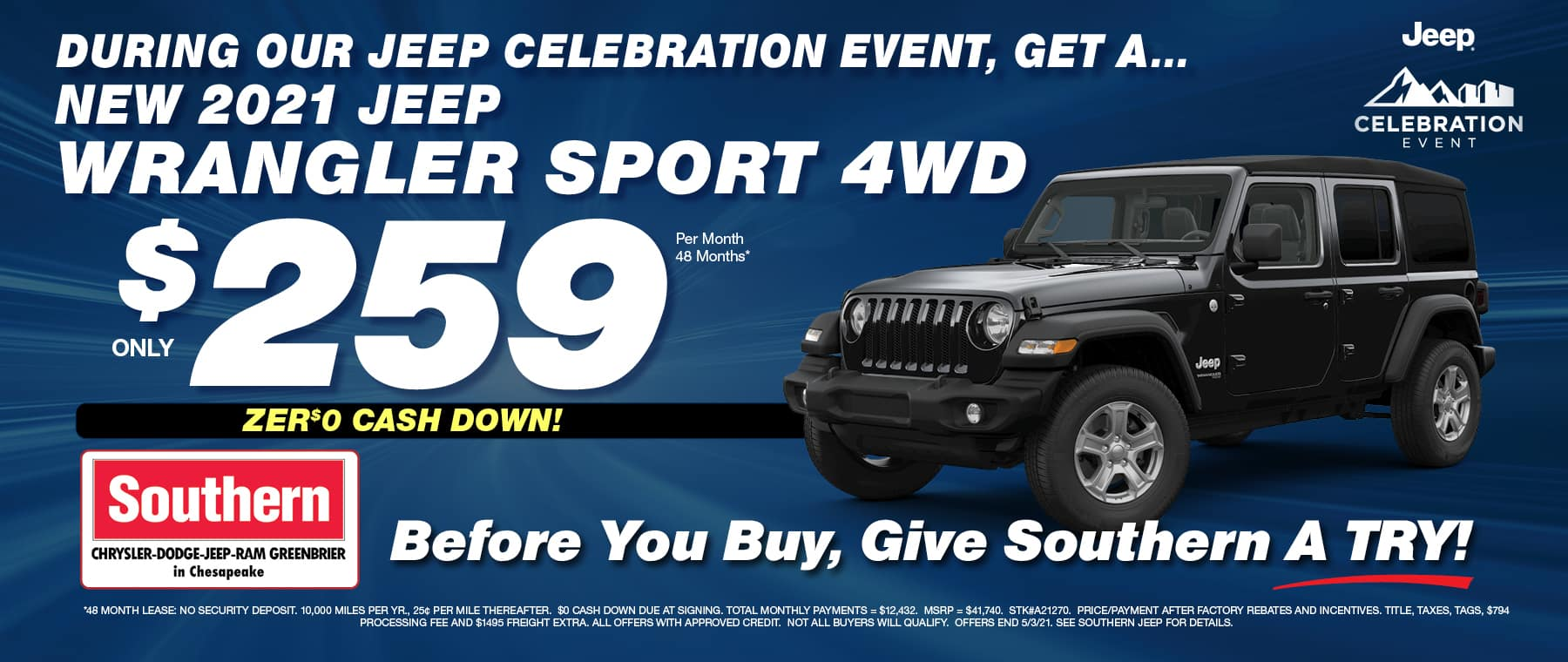 Southern Jeep – Greenbrier