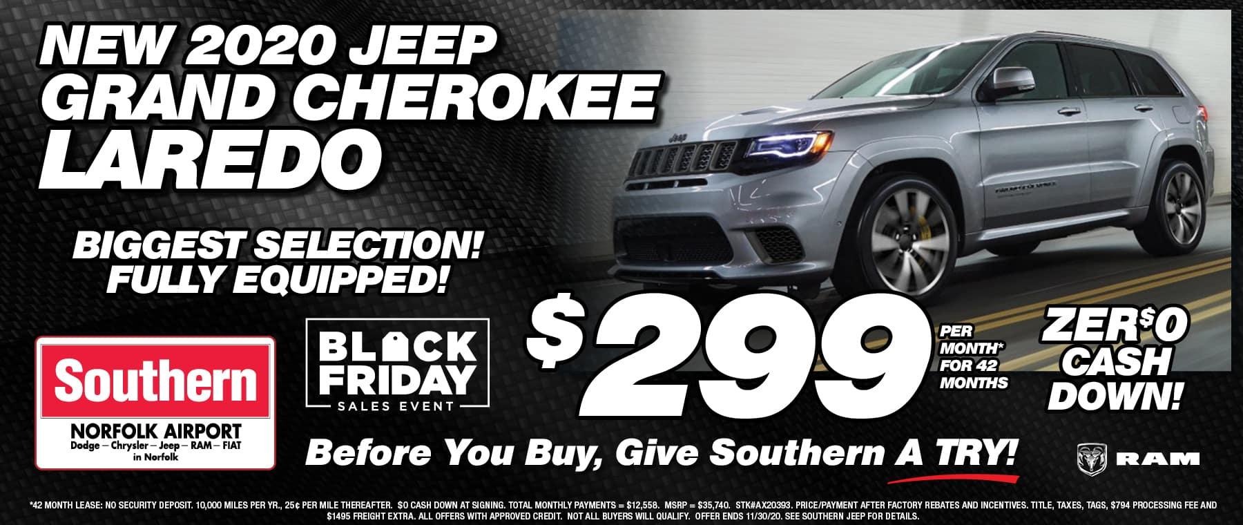 Jeep Grand Cherokee Southern Dodge November