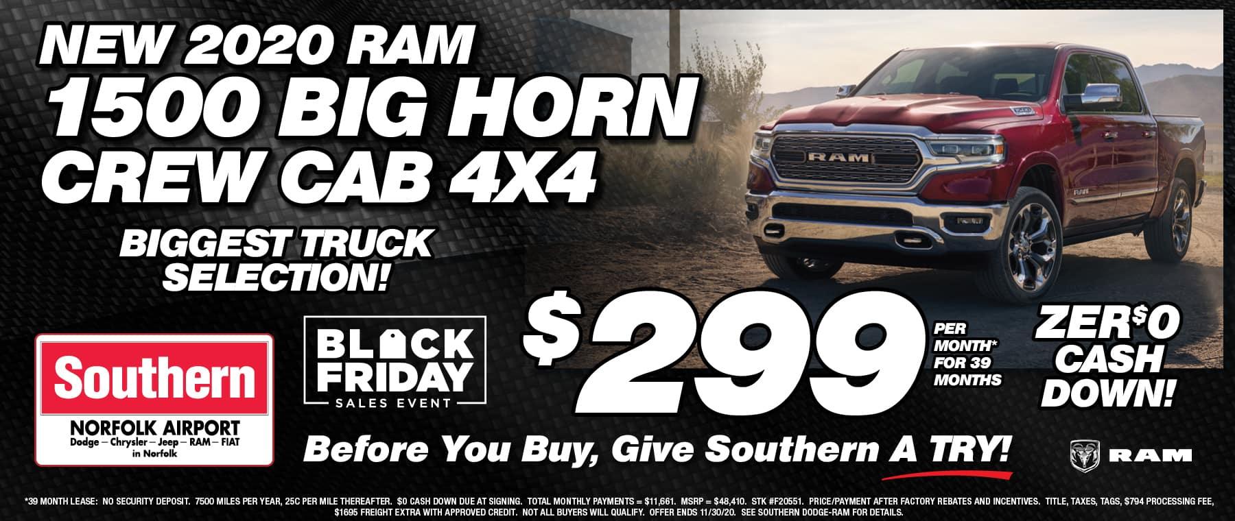 Ram Truck Southern Dodge November