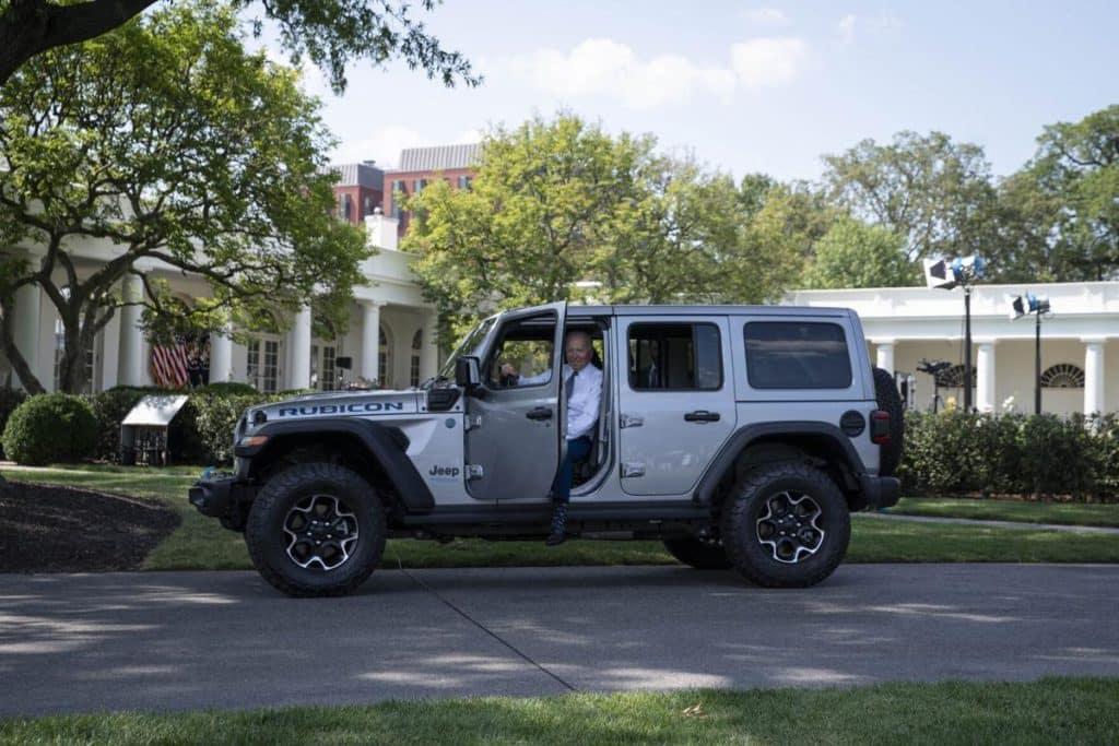 2021 JoeBiden Jeep 4xe CDJR