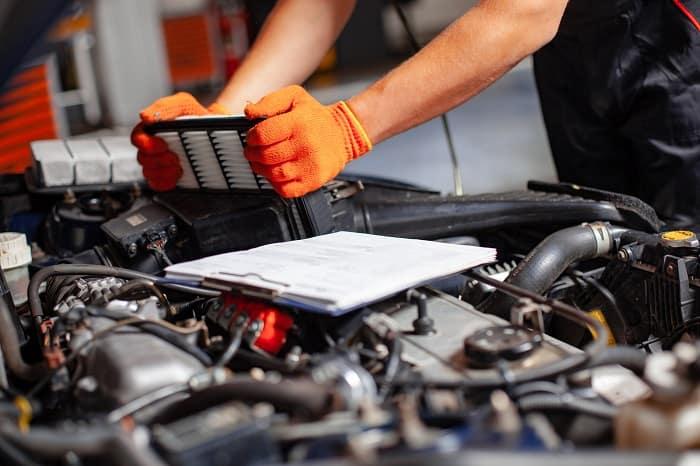 Volkswagen engine filter replacement