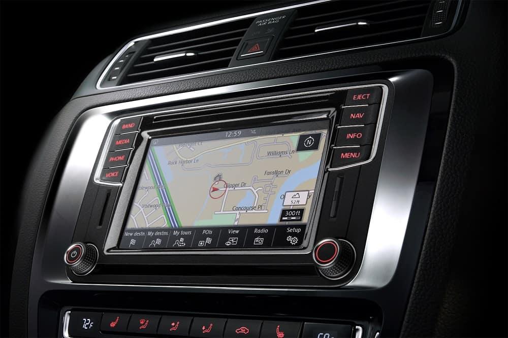 Volkswagen Jetta Interior Screen