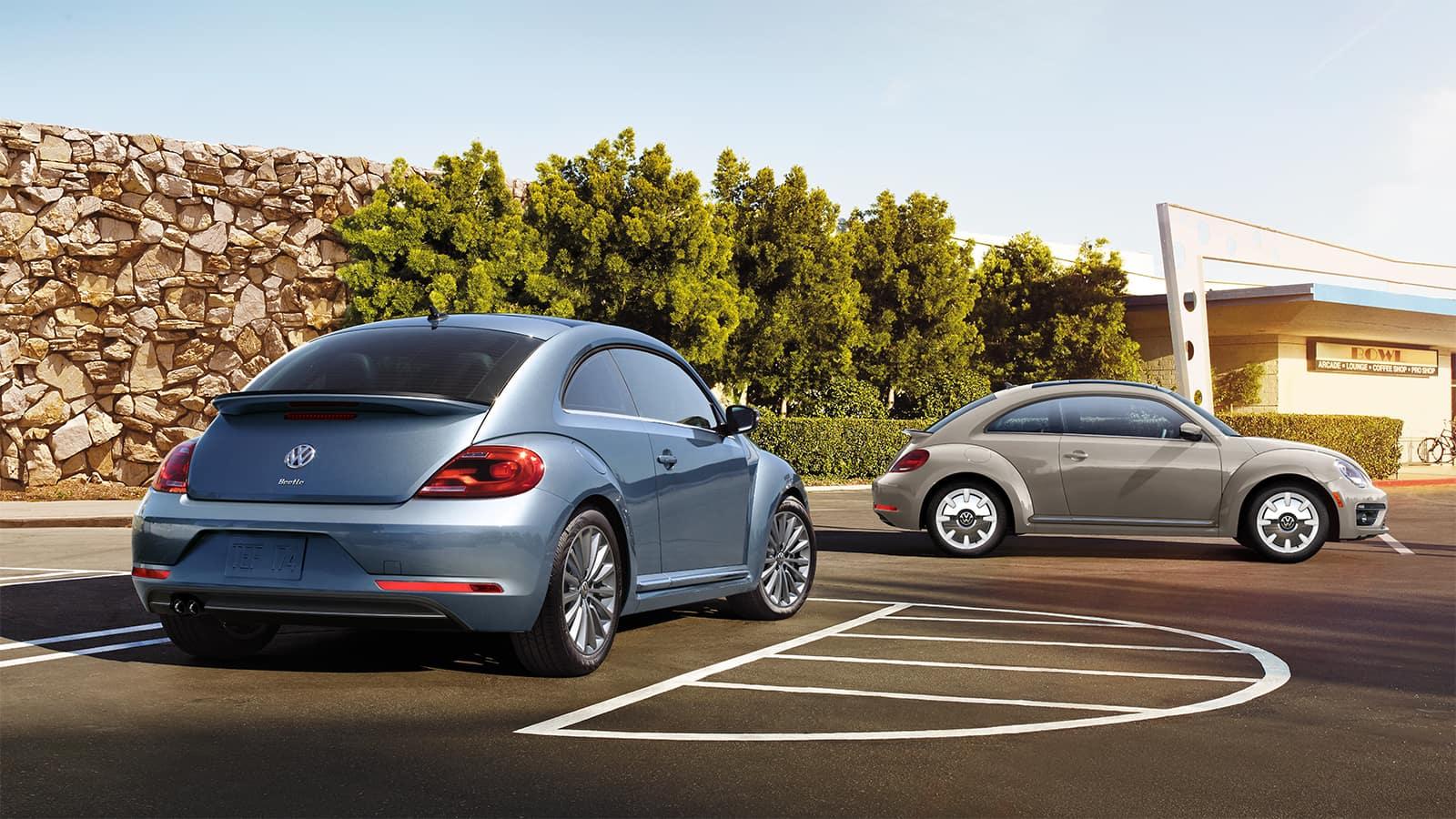 2019 Volkswagen Beetle Trim Comparison