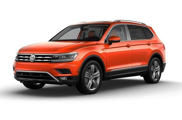 2019 Volkswagen Tiguan SEL Premium Habanero Orange