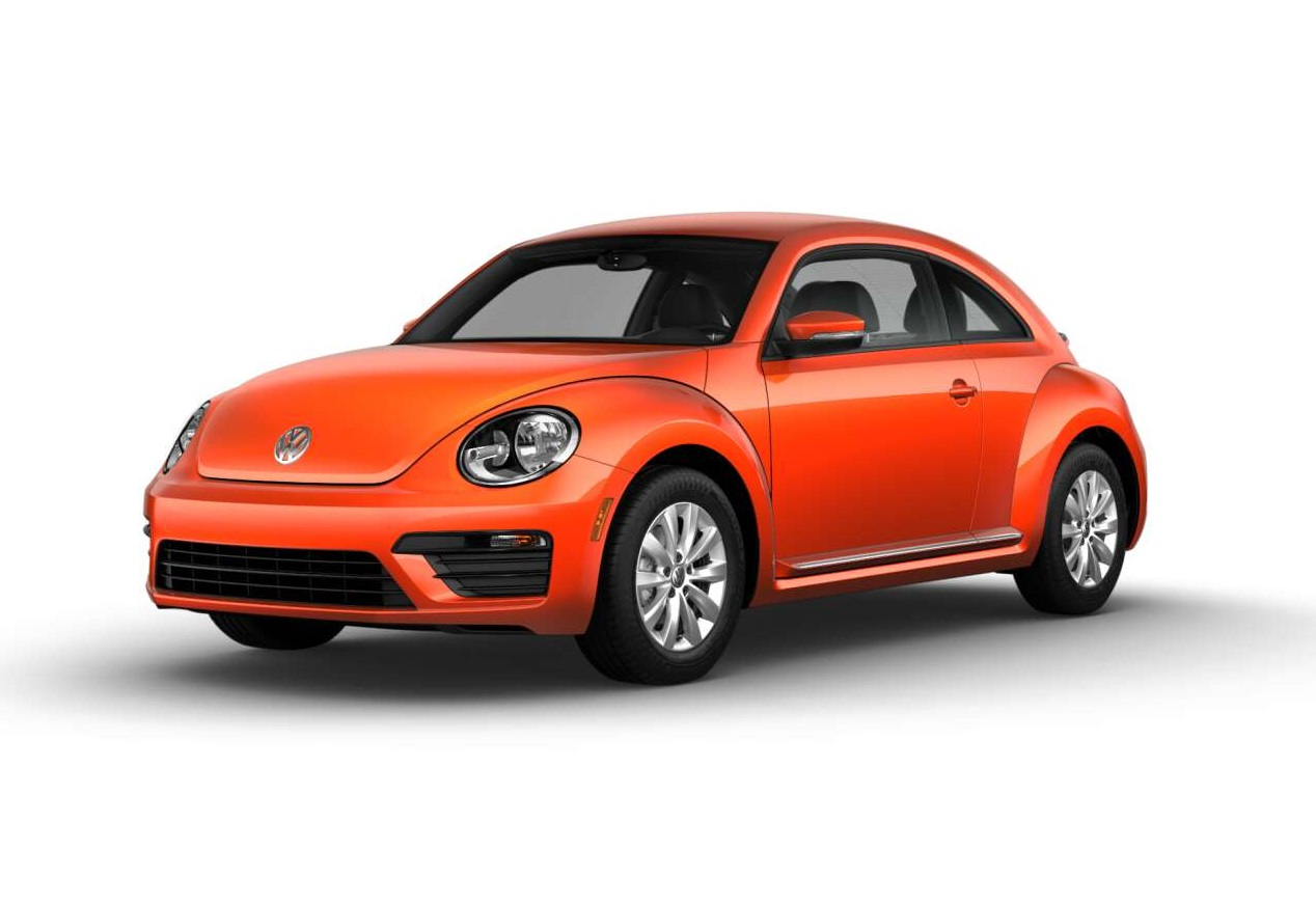 2019 Volkswagen Beetle S Habenero Orange
