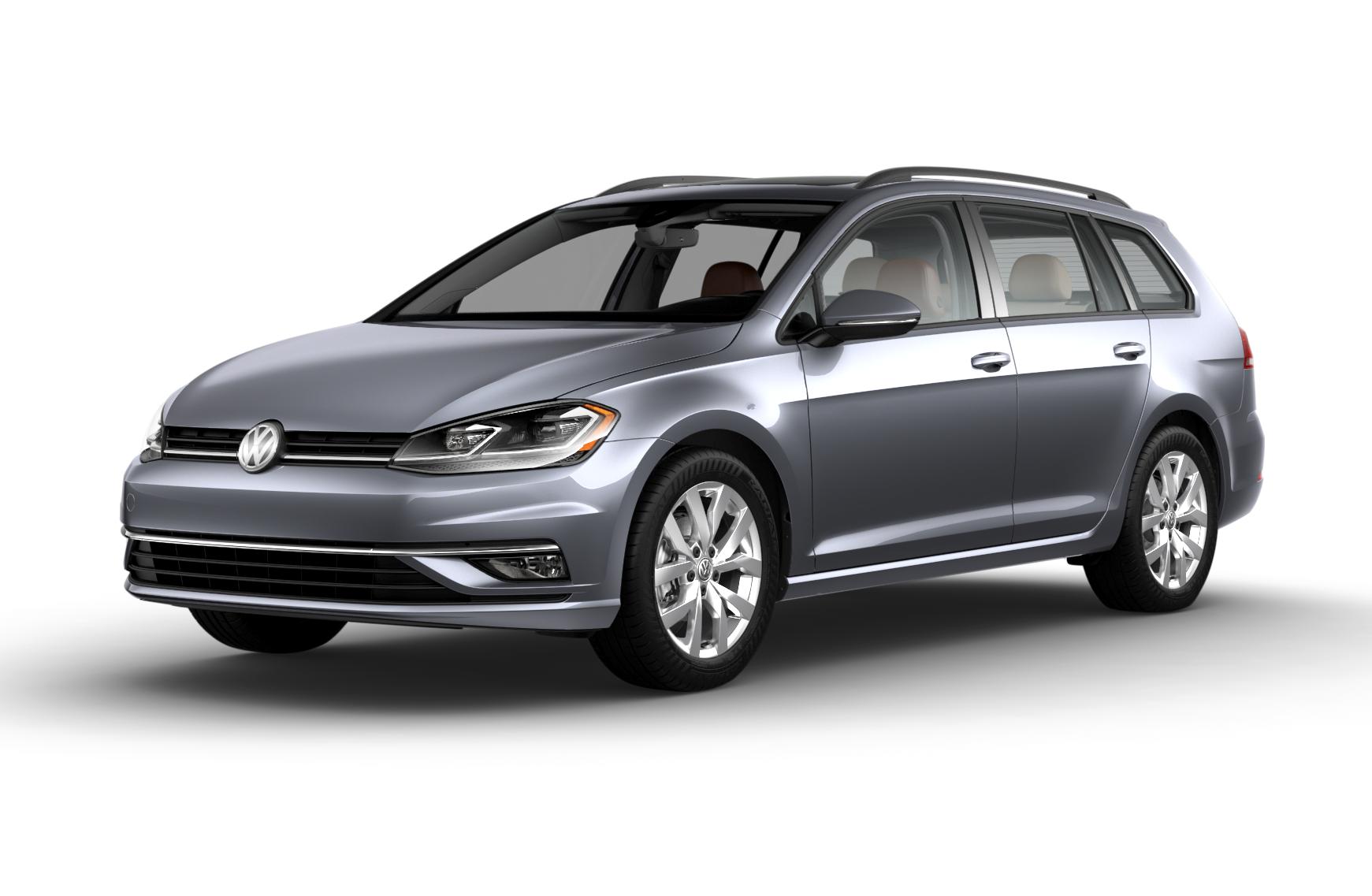 Volkswagen Golf SportWagen Gray Metallic