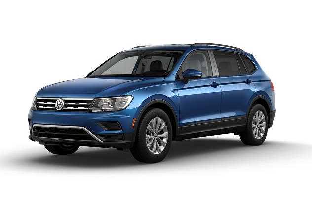 Volkswagen Tiguan Blue