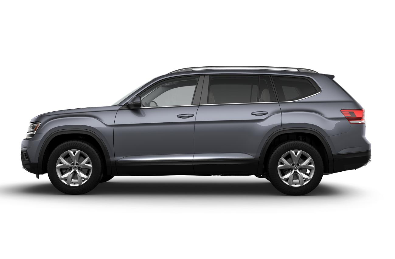 2019 Volkswagen Atlas Platinum Gray Metallic
