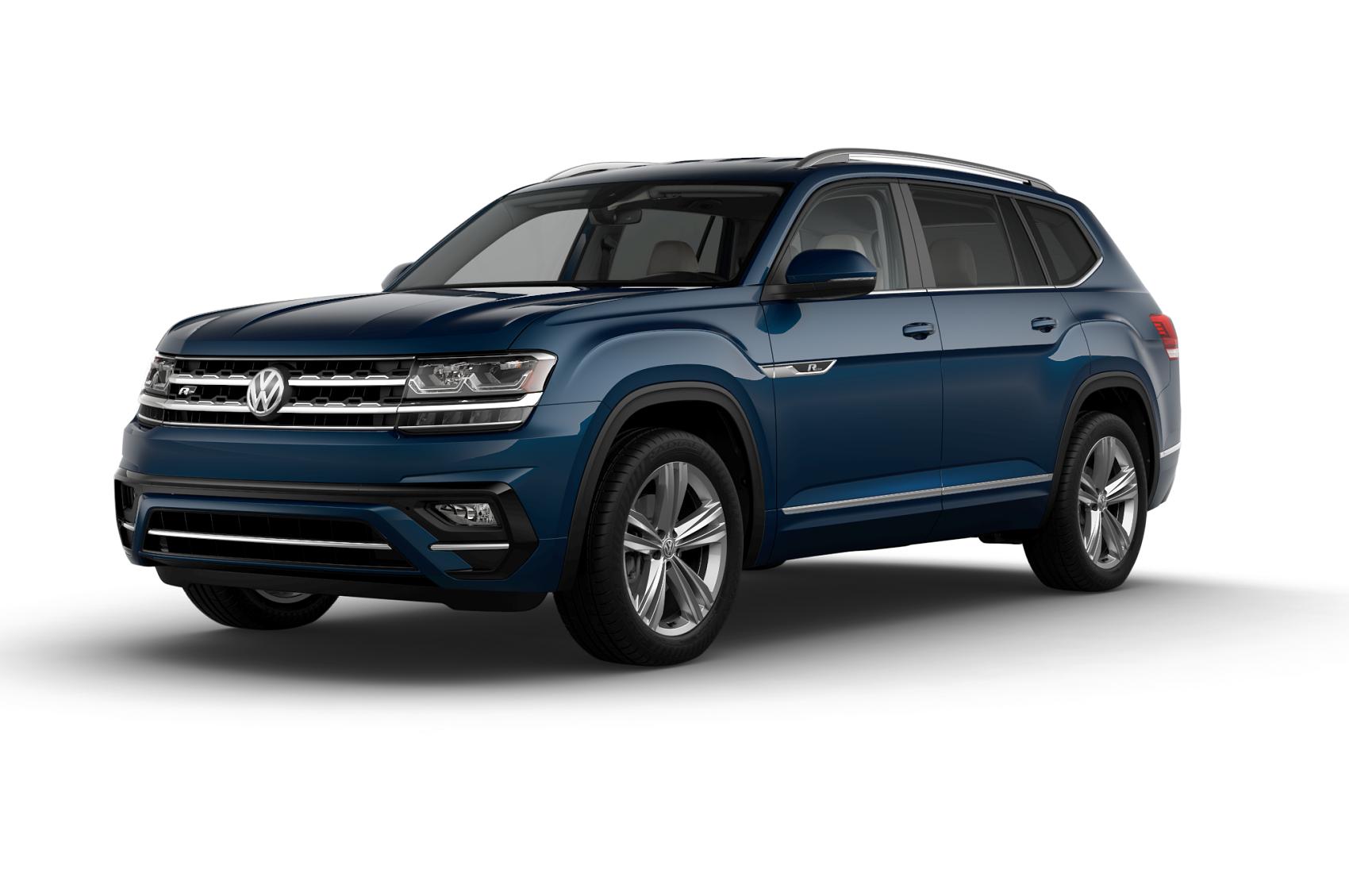 2019 Volkswagen Atlas SEL Blue Metallic