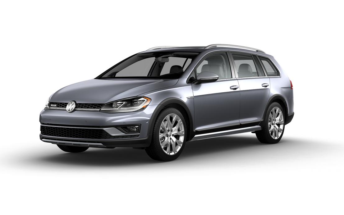 Volkswagen Golf Alltrack SEL Platinum Gray