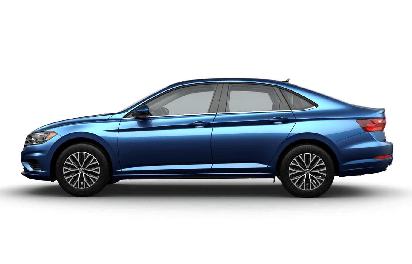 Volkswagen Jetta Silk Blue
