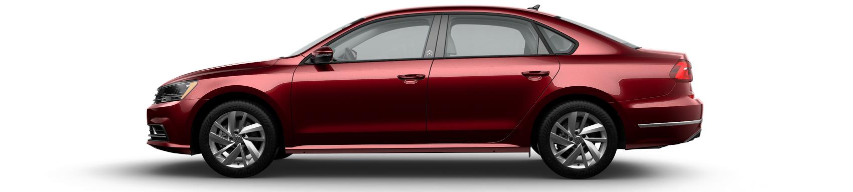 Volkswagen Passat Wolfsburg Fortana Red
