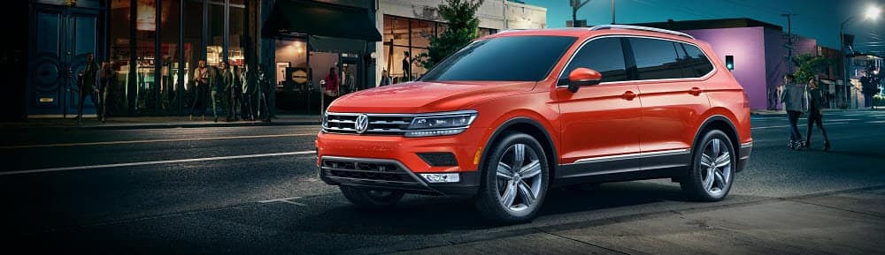 Volkswagen Tiguan Habanero Orange