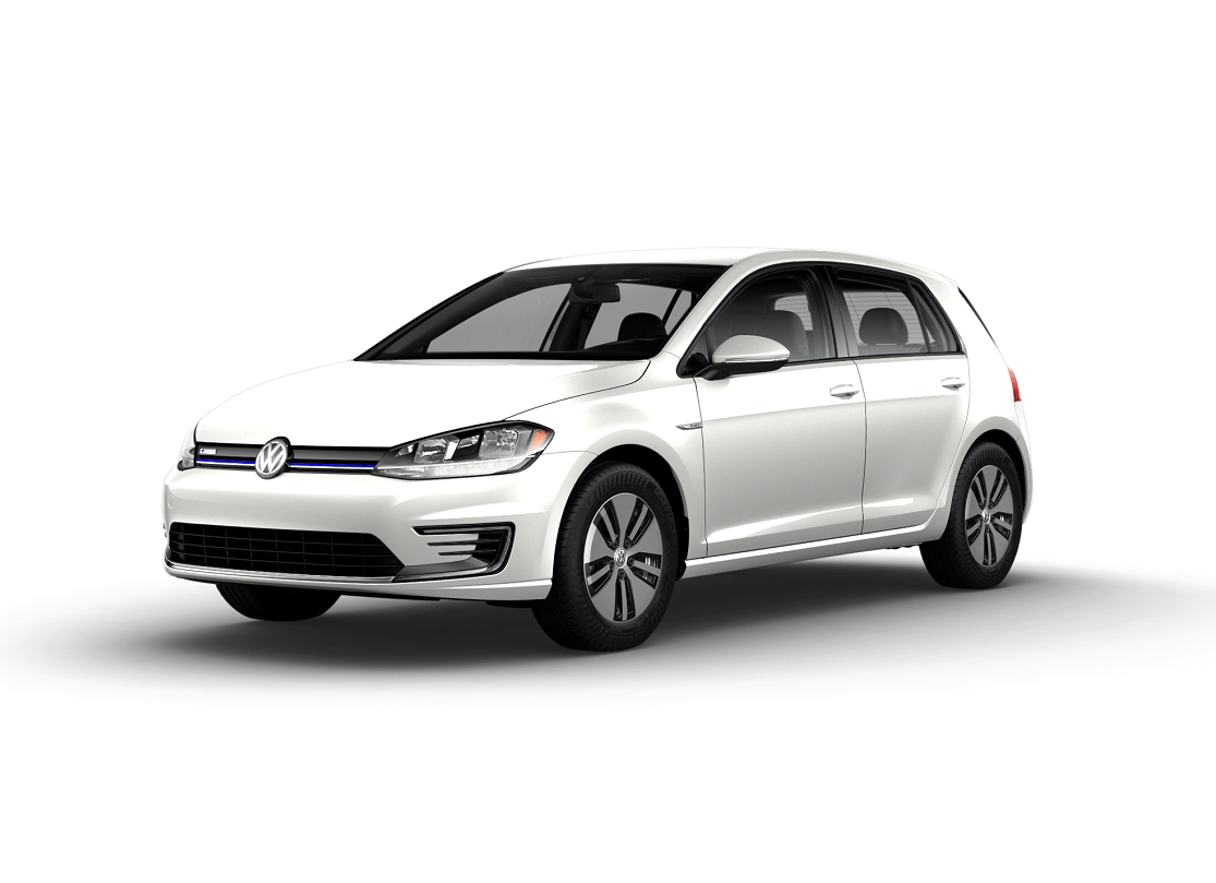 Volkswagen e-Golf SE Pure White