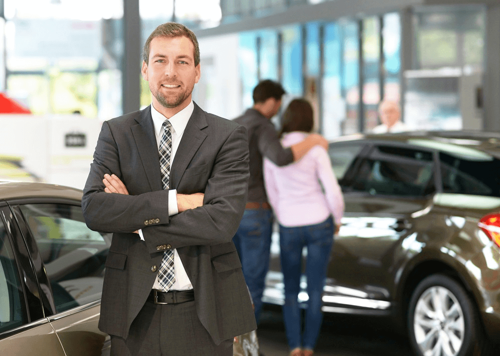 Working at Car Dealer