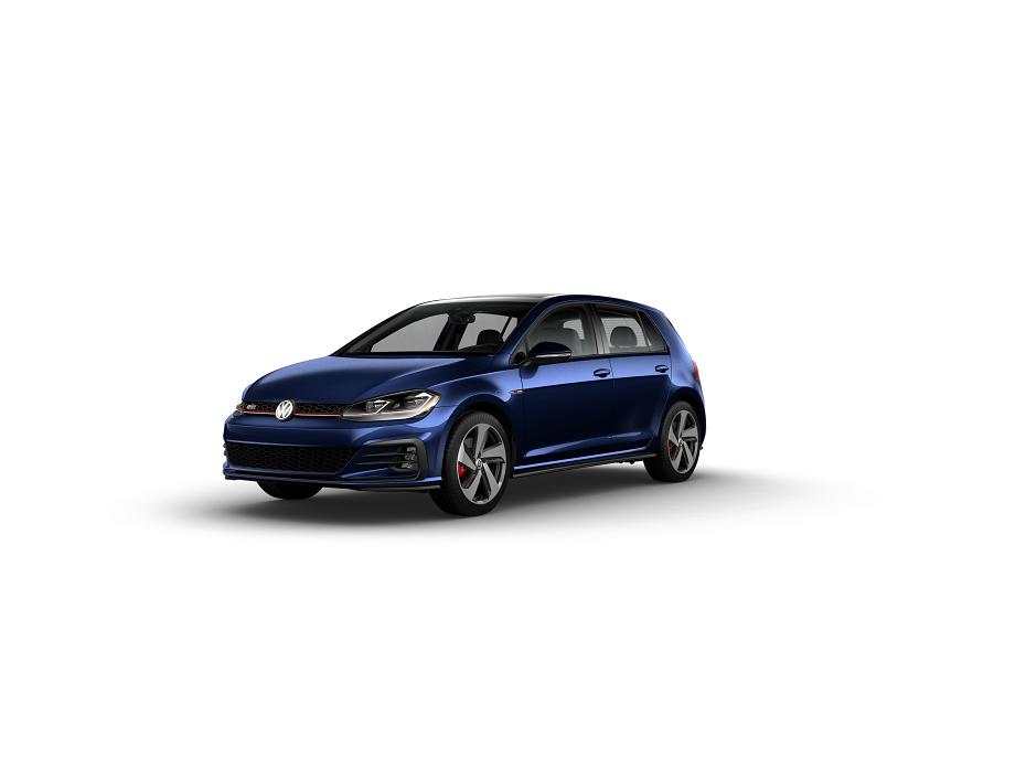 2019 Golf GTI Nigh Blue Metallic