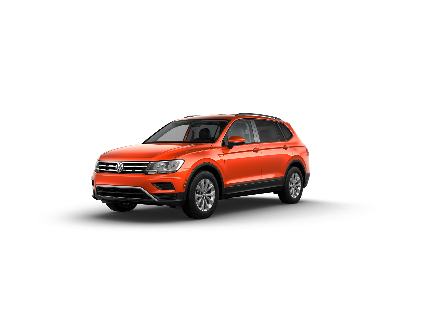 2019 Tiguan S Habanero Orange Metallic