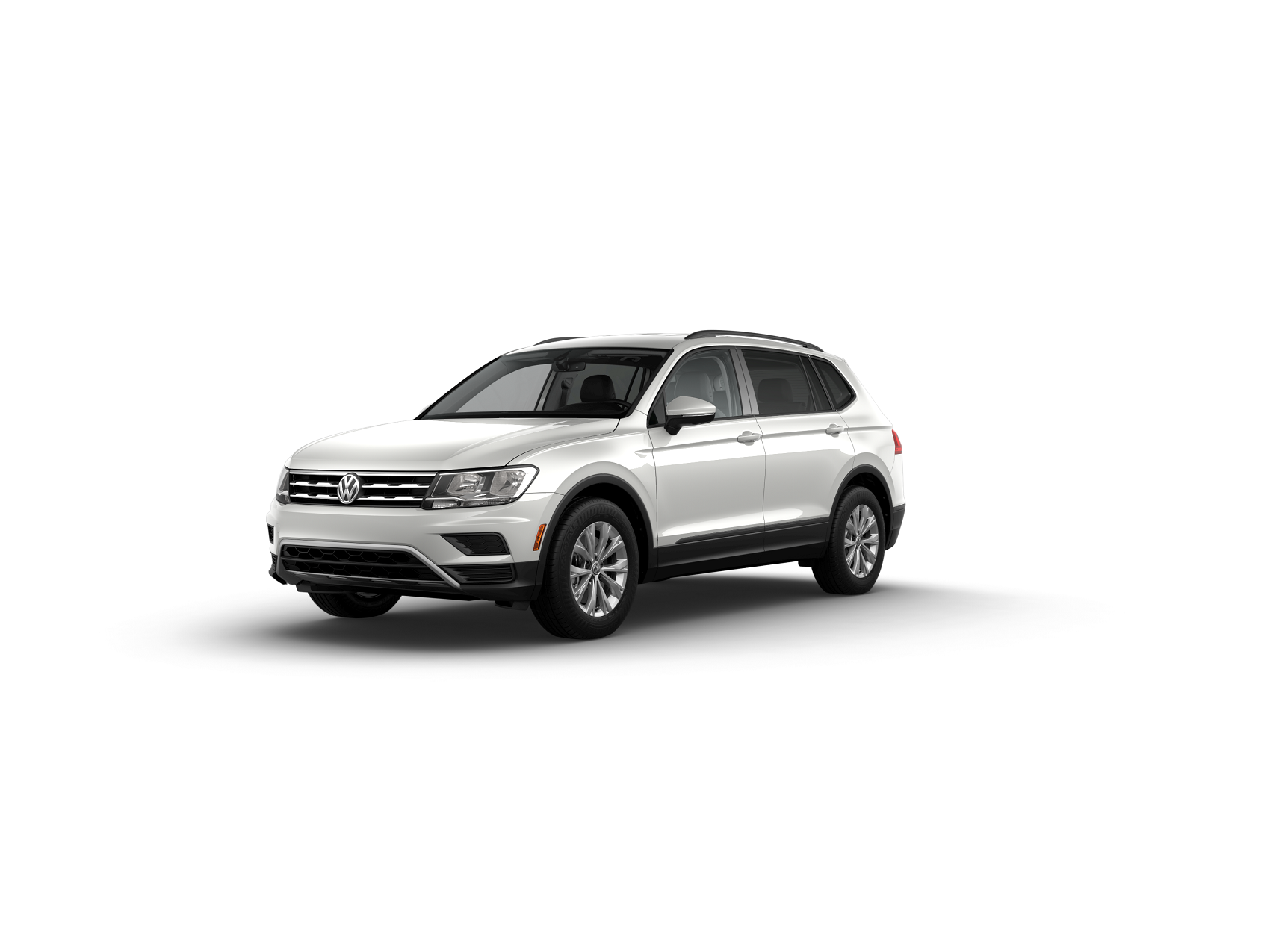 2019 Tiguan S Pure White