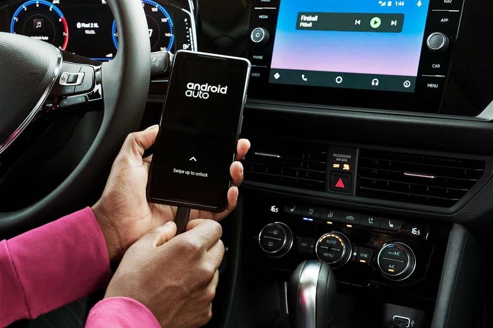Volkswagen Jetta Interior Android Auto