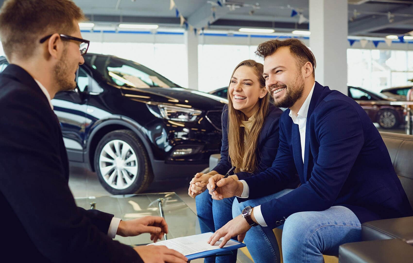 Financing at Car Dealership