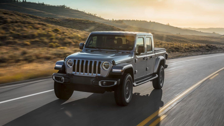 2020 Jeep Gladiator Overland exterior