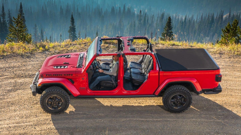 2020 Jeep Gladiator Rubicorn doors off