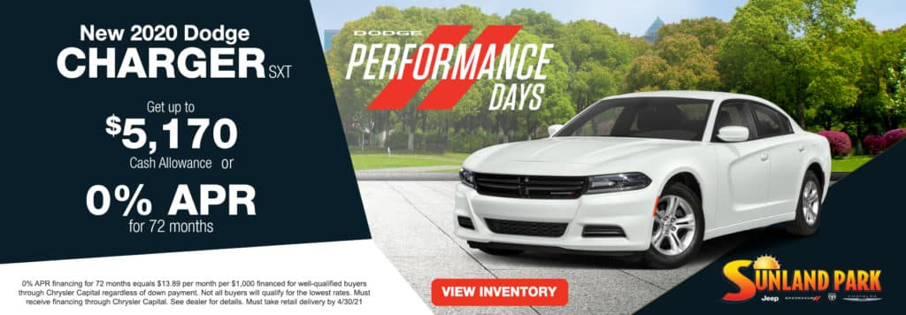 All New 2020 Dodge Charger SXT