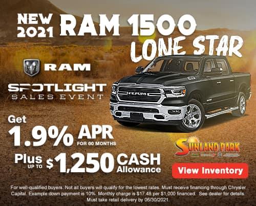 All New 2020 Ram 1500 Lone Star