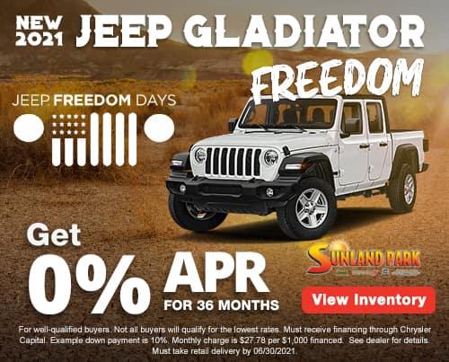All New 2021 Jeep Gladiator